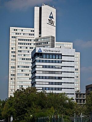 English: TUV Rheinland Headquarters in Cologne...