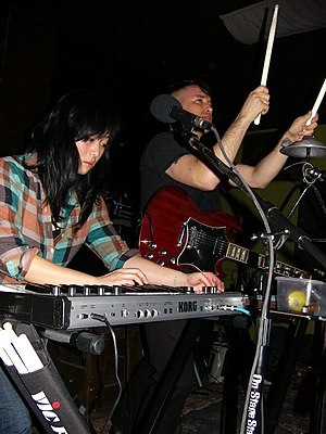 English: Xiu Xiu in 2010