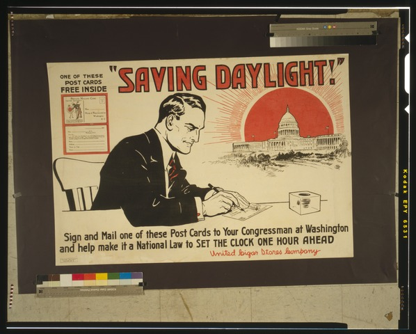 """Saving daylight!"" LCCN00652855"