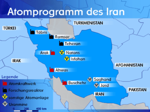 Nuclear program of Iran