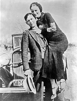 Bonnie Parker and Clyde Barrow, sometime betwe...
