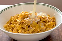 Milk and cereal grains are often fortified with vitamin D.