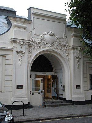 English: Detail of Maida Vale Studios The main...