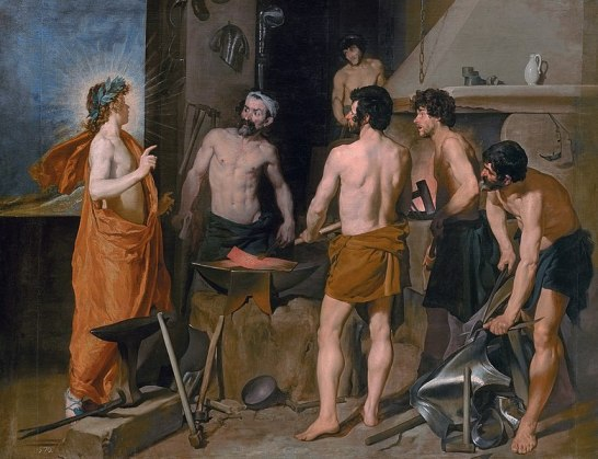 LIEN WIKIPEDIA - F VELASQUEZ -LA FORGE DE VULCAIN