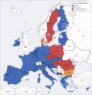 EU Monetary Union and the single currency euro