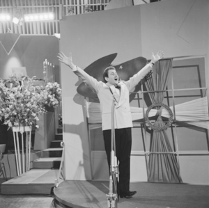 Domenico Modugno at the 1958 Eurovision Song C...