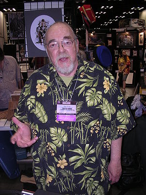 Photograph of Gary Gygax. The photo was taken ...