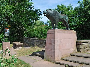 The Lion of Gerlingen was created 1953 by the ...