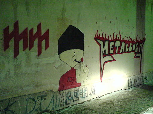 Graffiti in Teheran