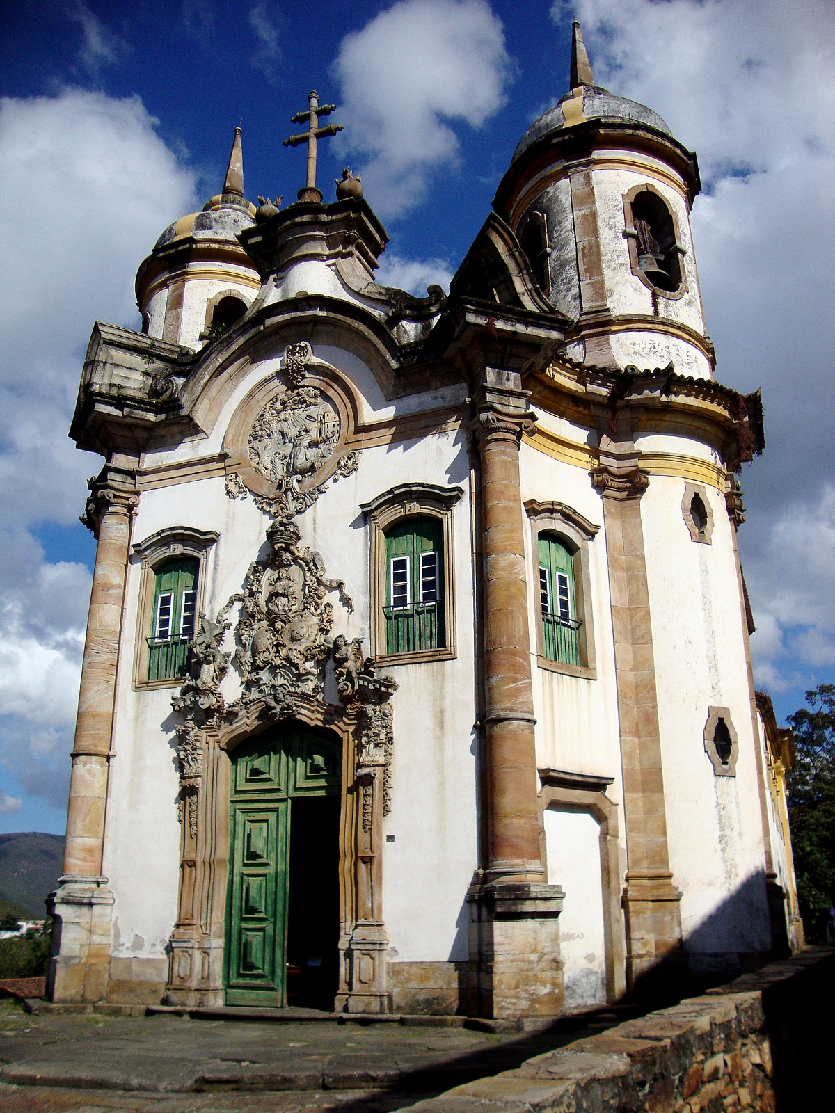 Church Of S 227 O Francisco De Assis Ouro Preto Wikipedia