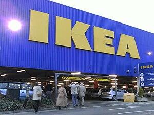 English: The Ikea multistory car park at Ikea,...