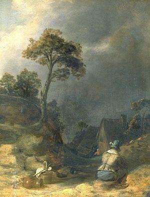 KÖRPER: Joos van Craesbeeck - Der müde Wanderer