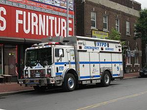 English: New York Police Department Emergency ...