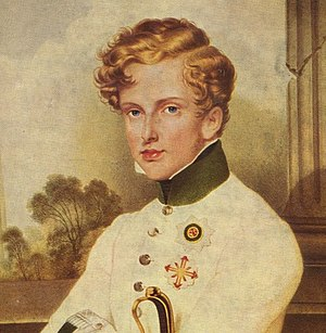 Portrait of Napoleon Franz, the Duke of Reichs...