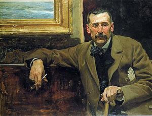 Benito Pérez Galdós, by Joaquín Sorolla