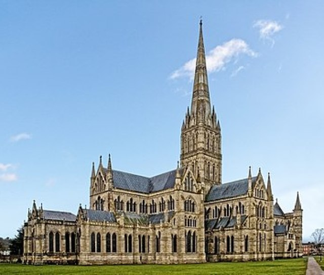 Tower Of Salisbury Cathedral The Tallest In Britain V