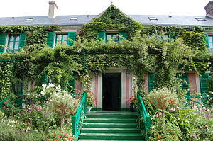 English: Claude Monet's house, Giverny, France