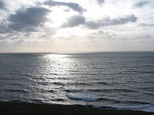 Svenska: Havet sett från Kåseberga