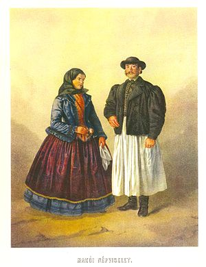 Older Hungarians from Makó