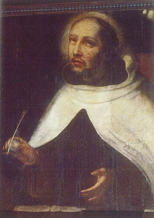 English: Saint John of the Cross, portrait