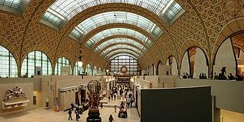 Museu de Orsay, interior.