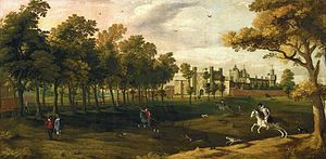 English: Nonsuch Palace by Flemish School
