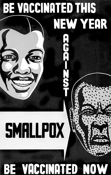 Old smallpox vaccination poster