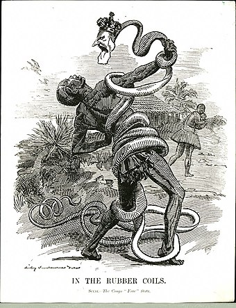 Image result for king leopold ii snake