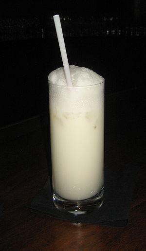 Ramos gin fizz cocktail at the Sazerac bar, Ro...