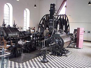 Steam engine Zeche Muttental