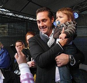 Austrian FPÖ politician's Heinz-Christian Stra...