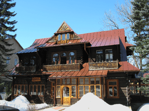 English: Villa Konstantynówka in Zakopane, pla...