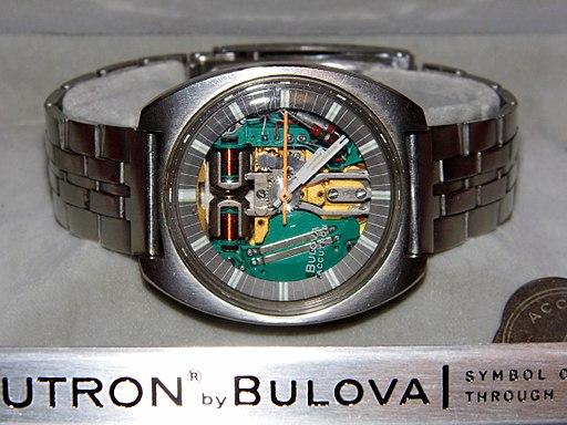 "Vintage Bulova Accutron ""Spaceview"" Men's Watch in Original Box (8517077886)"
