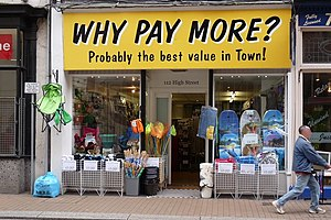 English: Why Pay More?, No. 112 The High Stree...