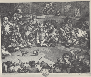 William Hogarth - The Pit