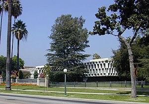 English: Former campus of Ambassador College i...