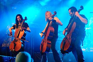 English: Finnish symphonic metal band Apocalyp...