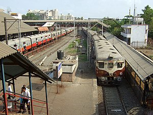 BANDRA Railway Station in Mumbai