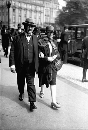 Hilferding and his wife Margarete, 1928