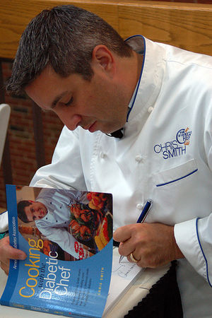 Chris Smith The Diabetic Chef® Autographing hi...