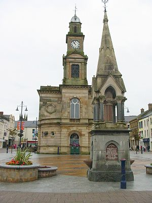 The Diamond, square in Coleraine, Northern Ireland