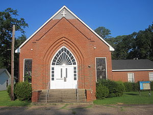 First United Methodist Church in Montgomery, LA