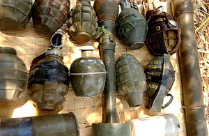 August 4, 2006 Hezbollah weaponry found during...