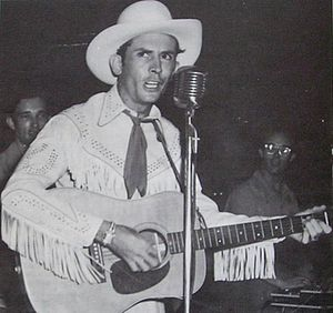English: Hank Williams in 1952