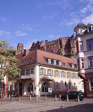 Kornmarkt Schloss Heidelberg