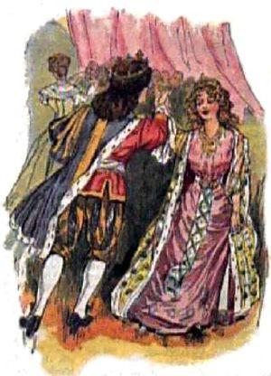 English: : Prince Charming meets Cinderella in...