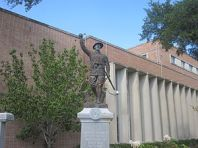Soldiers Monument at Angelina County Courthouse