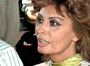 Sophia Loren in 1992.