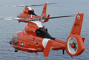 Dolphin milik United States Coast Guard