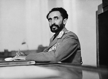 Addis Ababa, Ethiopia. Haile Selassie, Emperor...